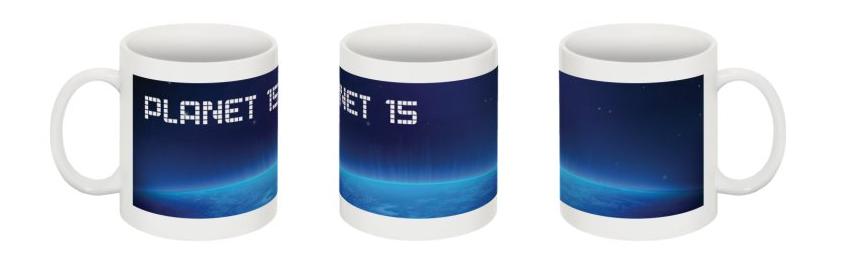 science fiction mug space planet 15