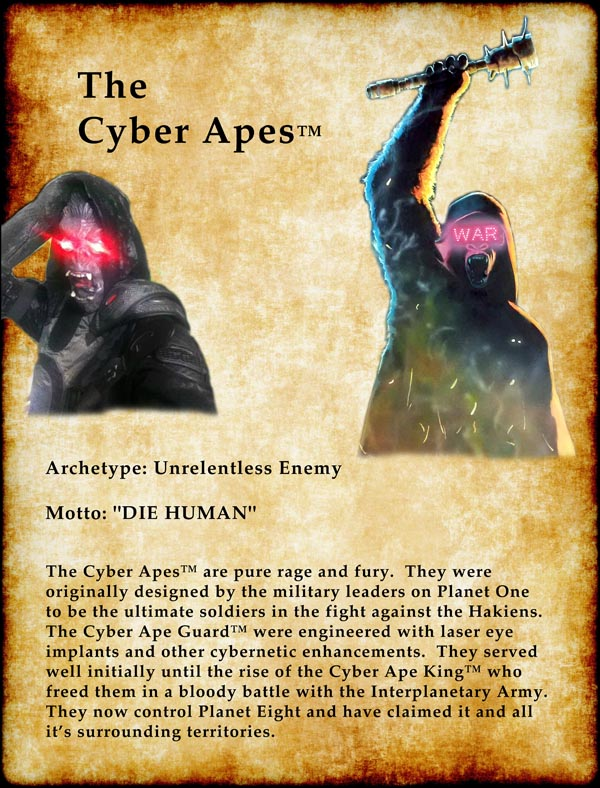 The Cyber Apes