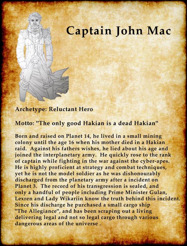 Captain John Mac™