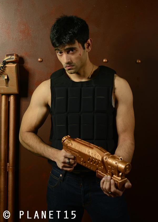 gun show muscle man kung fu karate actor sci-fi science fiction